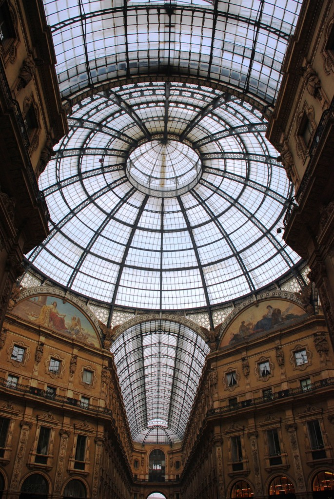 Galleria Vittorio Emanuele II - the premiere shopping arcade in Milan