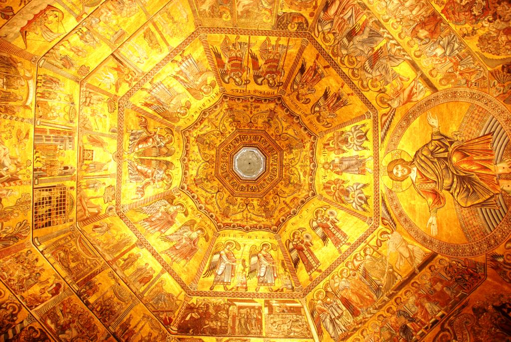 Ceiling of the Baptistery