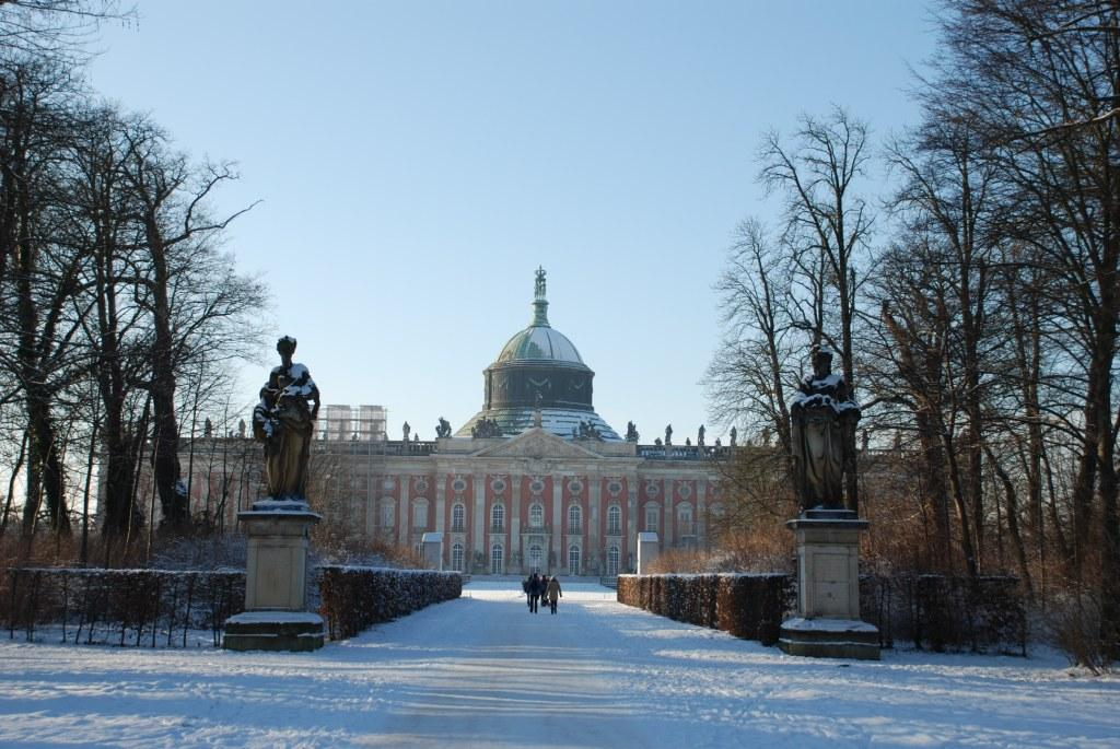 The New Palace, the last great Prussian Baroque palace