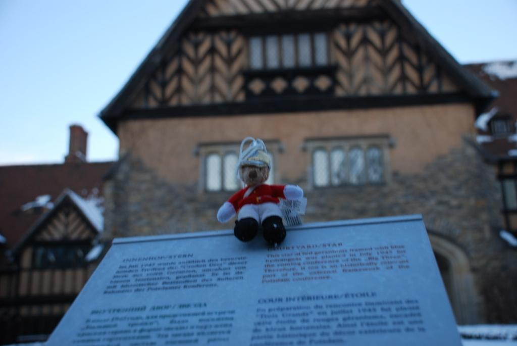 Cecilienhof, site of the Potsdam Conference