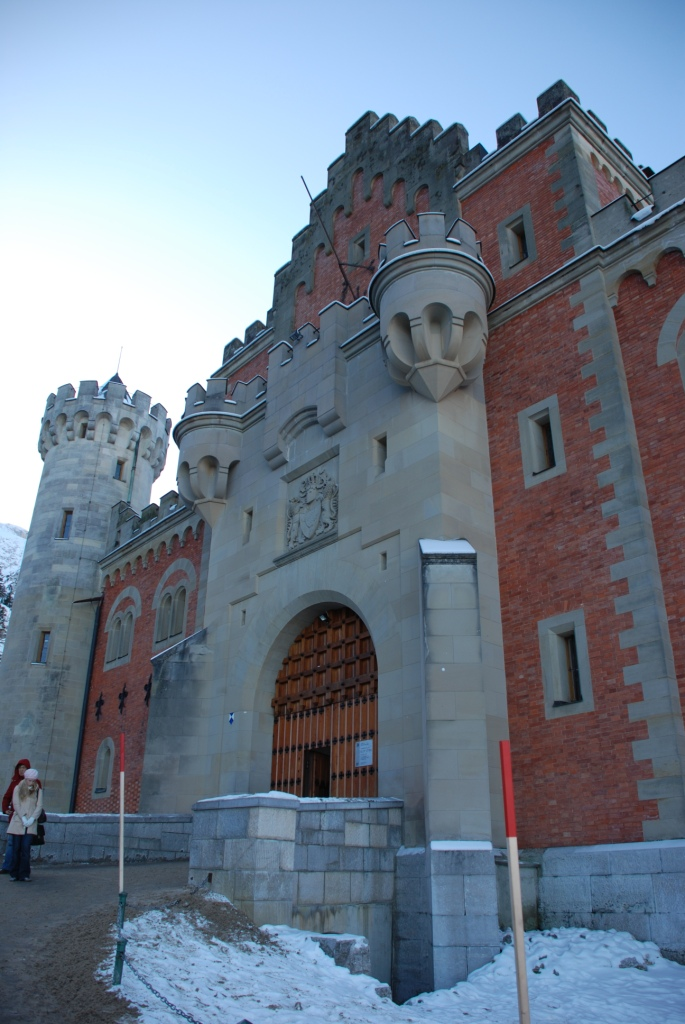 The gates of Neuschwanstein