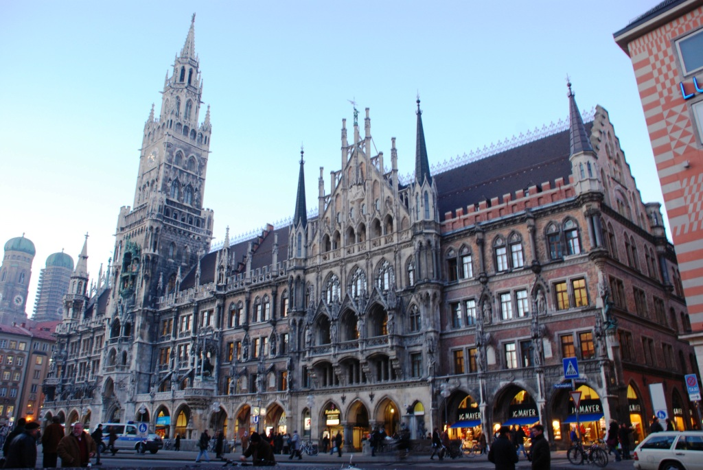 The New Town Hall of Munich