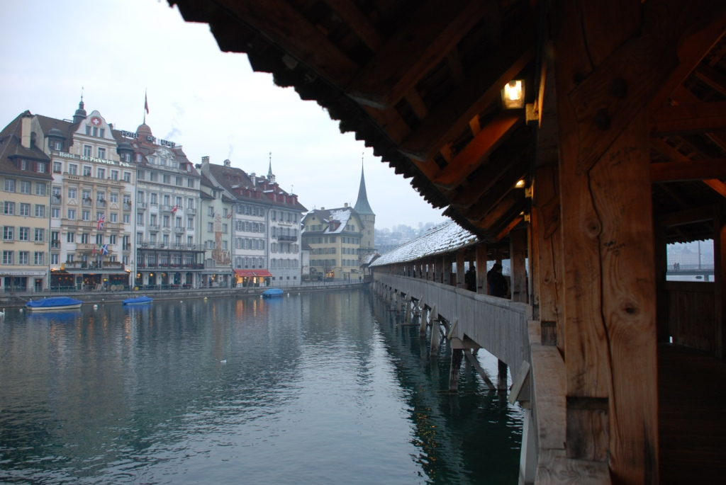 Kapellbrücke - Chapel Bridge - in Lucerne