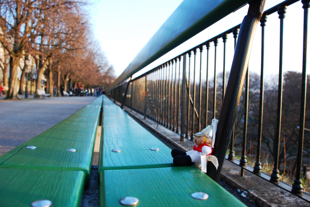 The longest bench in Europe - Geneva